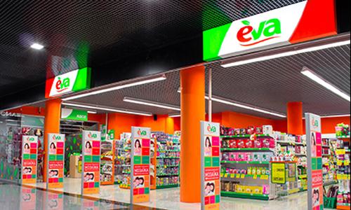 Линия магазинов EVA